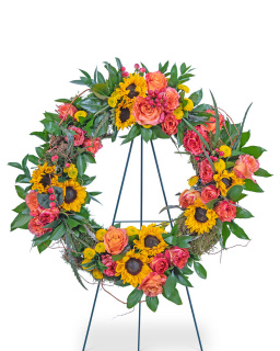Sunset Reflections Wreath