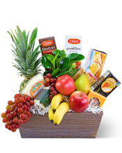 Classic Fruit and Cheese Basket
